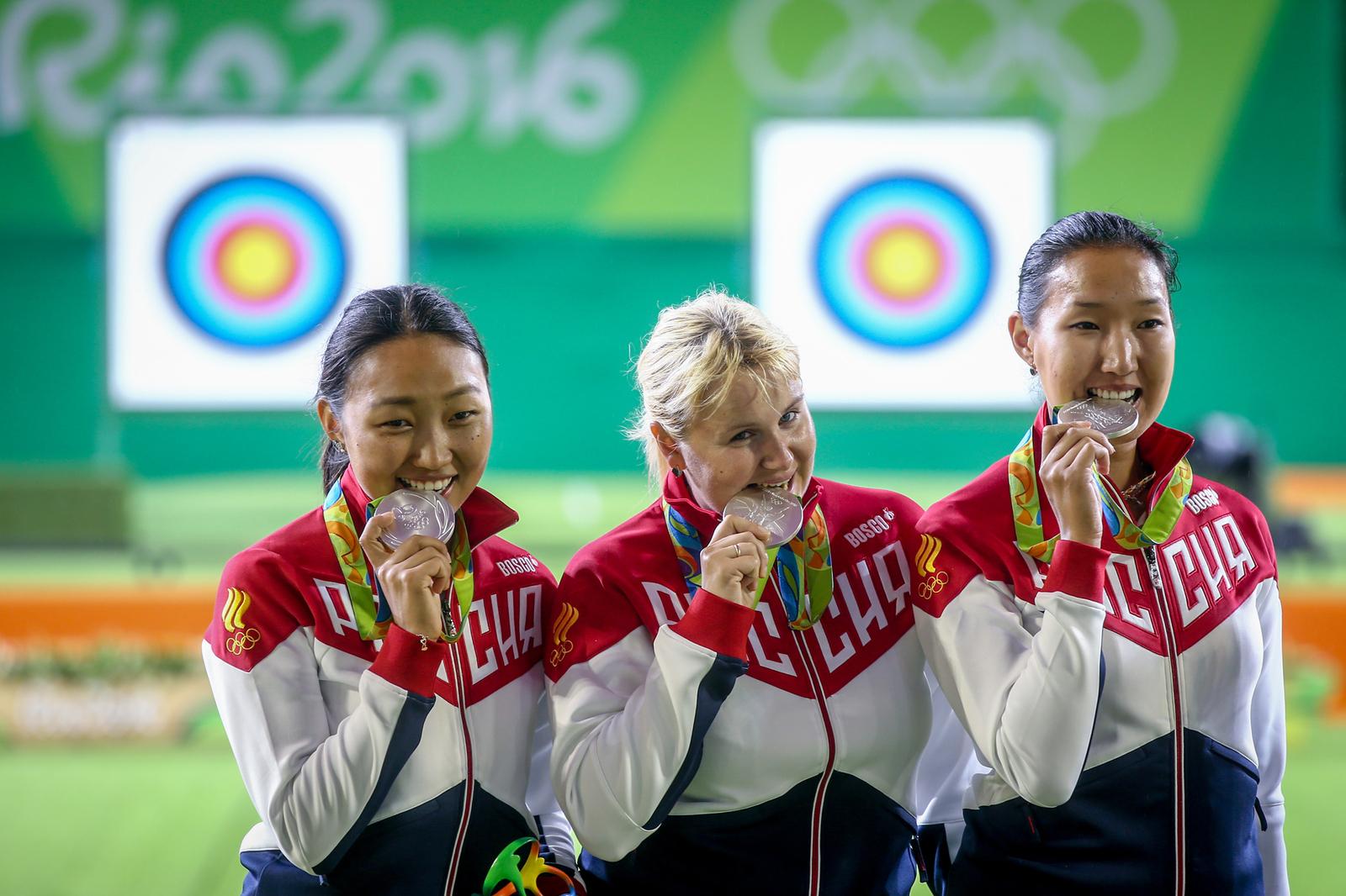Россиянки - серебряные призеры Олимпийских игр по стрельбе из лука