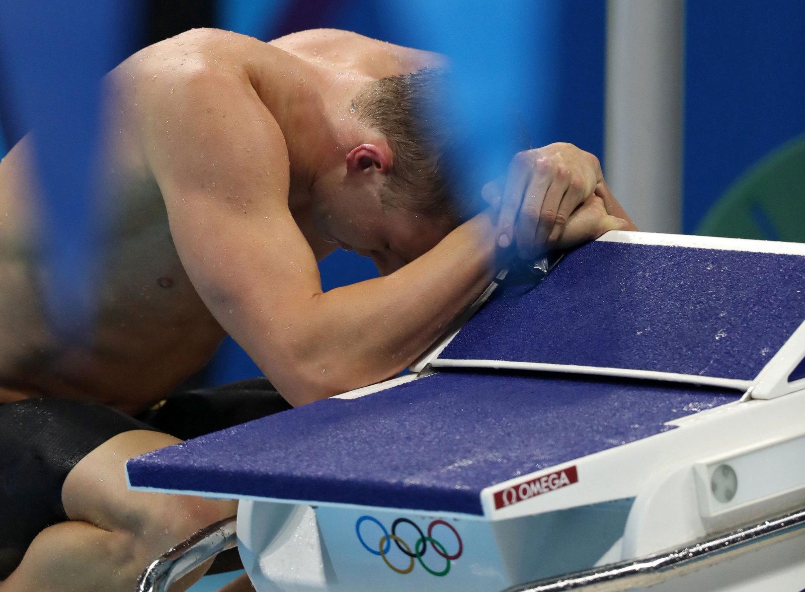 Американский пловец разочарован вторым результатом в заплыве на спине на 200 метров