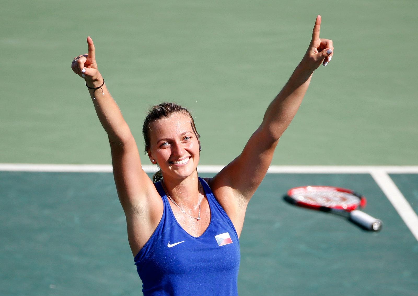Чешская теннисистка Петра Квитова выиграла бронзу в одиночном разряде среди женщин