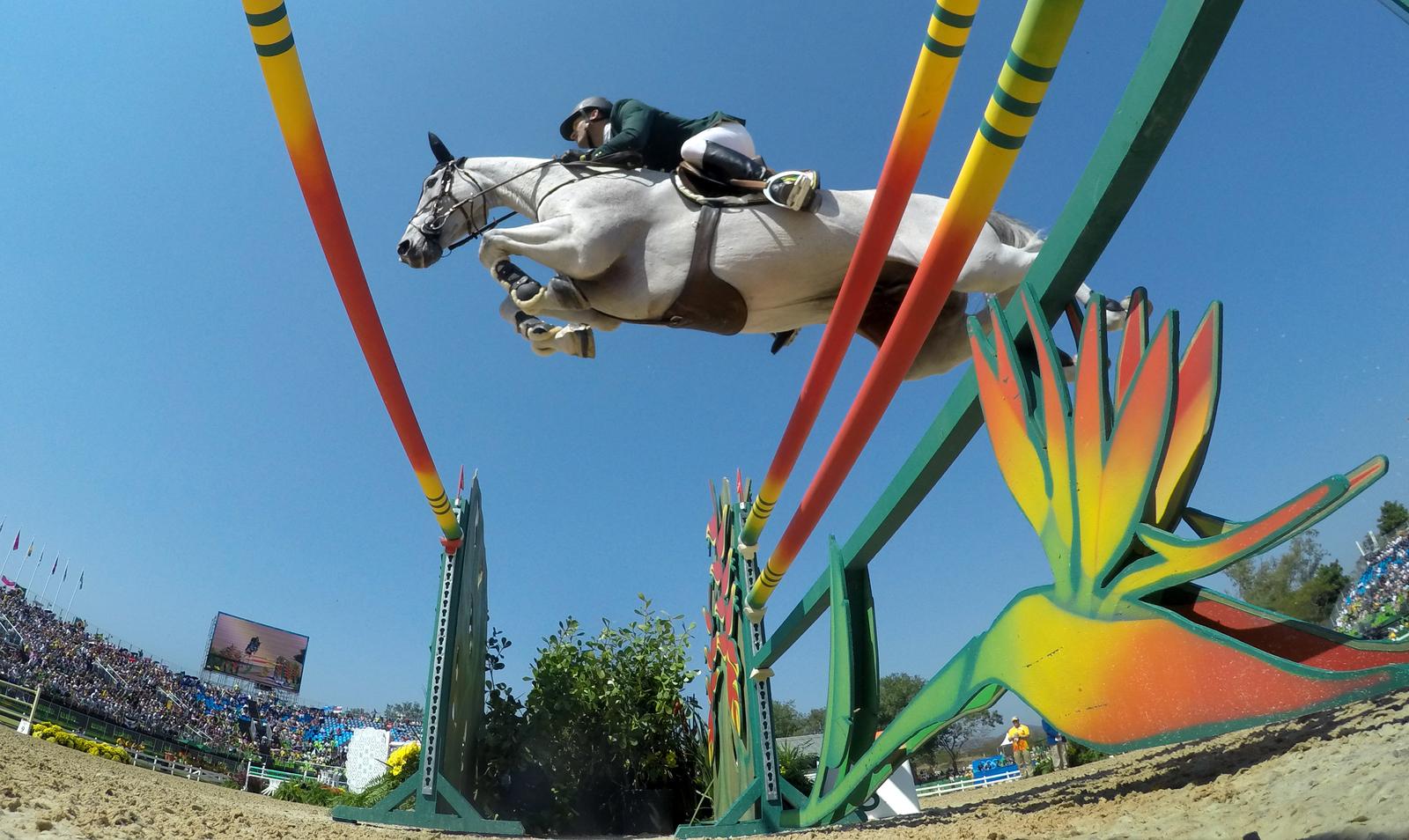 В конном спорте разыграли медали в командном конкуре