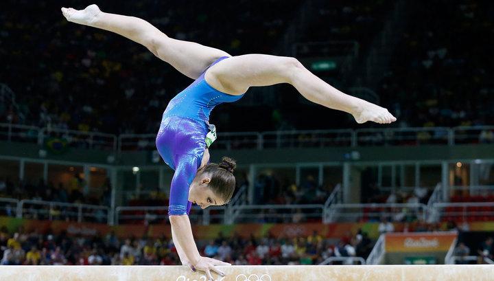 Россиянка Алия Мустафина выиграла «бронзу» вгимнастическом многоборье