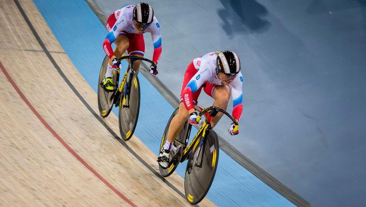 Российская Федерация  выиграла вторую медаль ввелоспорте наОлимпиаде