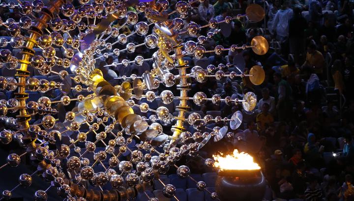 Церемония закрытия летних Игр-2016 началась в Рио-де-Жанейро