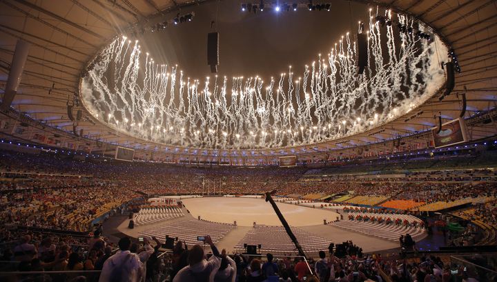 В Рио-де-Жанейро погас олимпийский огонь летних Игр-2016
