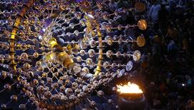 Олимпиада подошла к концу. Последние часы олимпийского огня в Бразилии