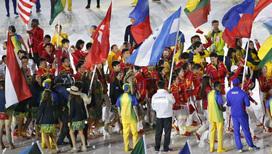 Прощальный парад атлетов в Рио