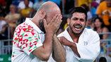 Реакция дзюдоиста из Ливана и его тренера на проигранный поединок