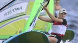 В парусном спорте россиянка Стефания Елфутина имеет очень большие шансы на медаль
