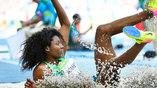Тройной прыжок бразильянки Нубии Суарес