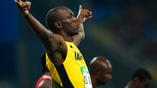 Легендарный Усейн Болт победил на двухсотметровой дистанции