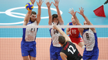 Российские волейболисты одолели команду Канады в олимпийском турнире