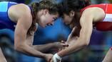 """В поединке за """"золото"""" Валерия Коблова уступила сопернице из Японии Каори Кичо"""