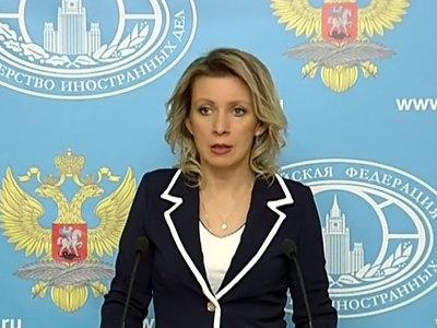 мария захарова ответила порошенко гибридной попытке присвоения