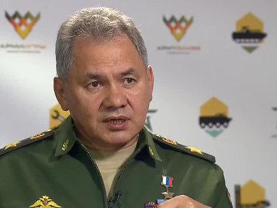 сергей шойгу отметил победителей конкурса военных журналистов