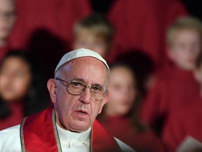 папа франциск пример гитлера типичен