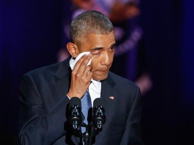 Прощальный твит Обамы бьет рекорды популярности у американцев