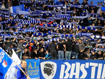 Фанаты подвели французскую Бастию: стадион клуба закрыт