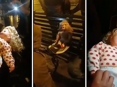 В Перу заговорила охваченная дьяволом кукла