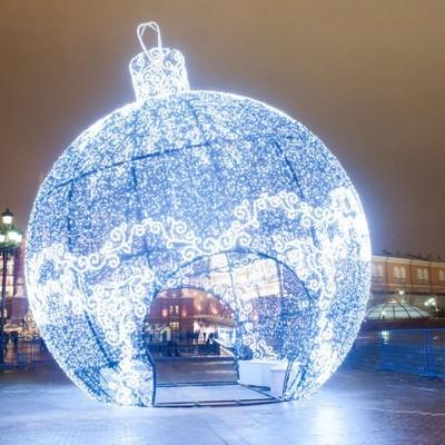 Новогодние большие шары