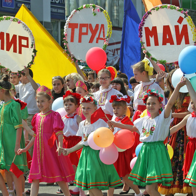 Первомай в Москве будет сухим, солнечным и теплым
