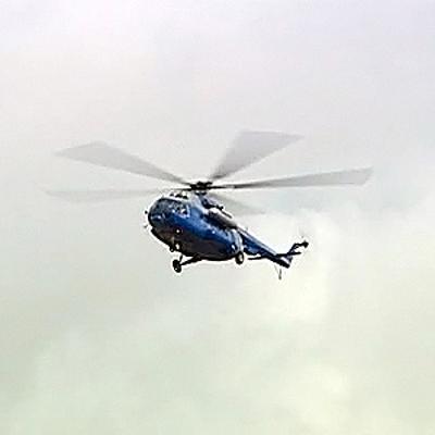 В подтопленный поселок в Приморье направлено три вертолета МЧС со спасателями