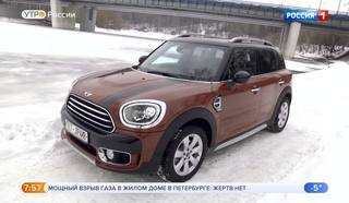Тест-драйв MINI Countryman F60