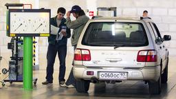 Треть легковых автомобилей в России признаны опасными
