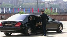 Путин снова пересел на Mercedes