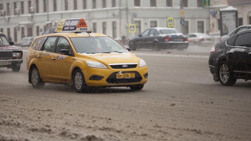 Число ДТП с таксистами выросло в полтора раза