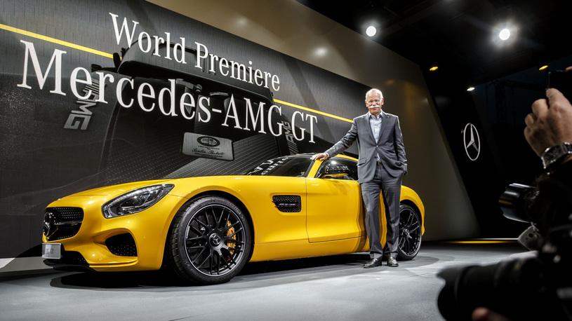 Дитер Цетше покинет пост главы Daimler AG