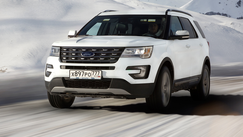 Ford Explorer заметно подешевел в России