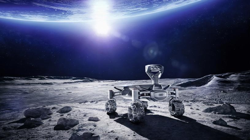 Audi отправит свой вездеход на Луну