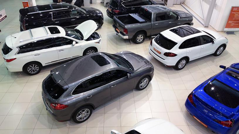 Россияне потратили на новые машины более 1 трлн рублей