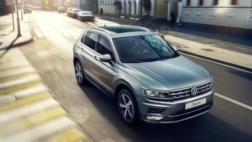 Volkswagen отзывает в России кроссоверы Tiguan