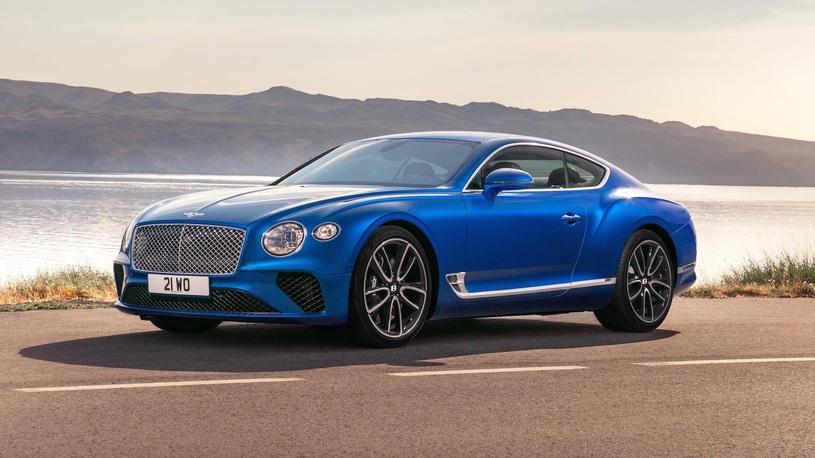 Bentley Continental GT попали под отзыв из-за проблем с напряжением
