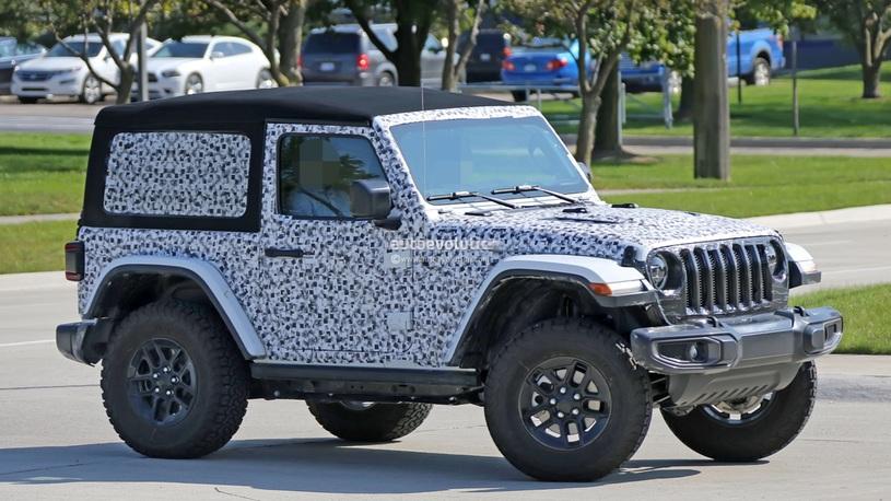 Уточнена мощность моторов нового Jeep Wrangler