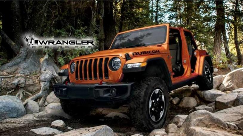 Новый Jeep Wrangler случайно раскрыли до премьеры