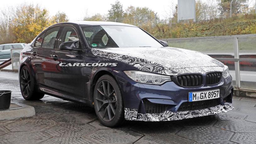 Самый мощный вариант BMW M3 покажут в ноябре