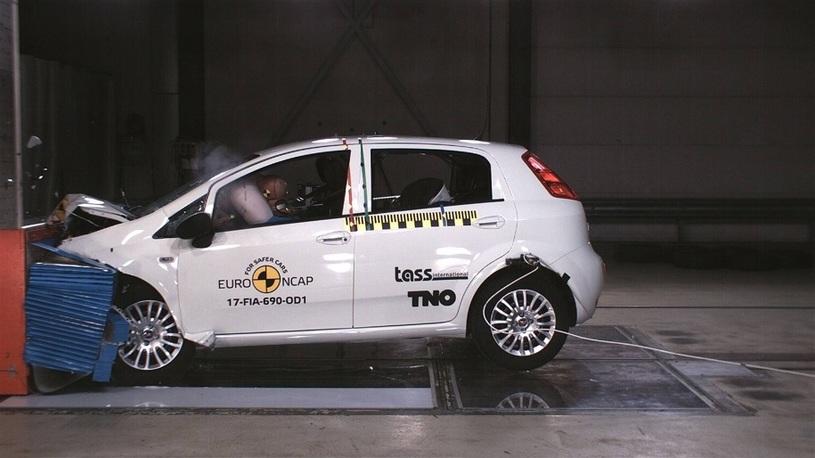 Впервые в истории EuroNCAP автомобиль получил ноль баллов