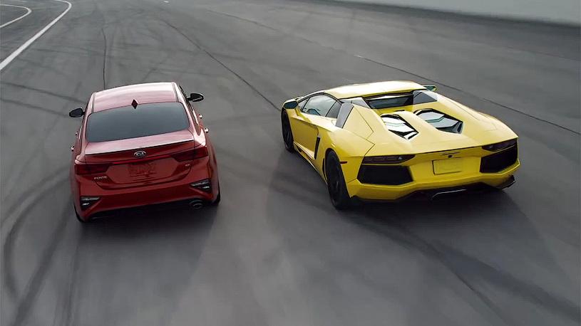 Новый седан от Kia оказался конкурентом Lamborghini Aventador
