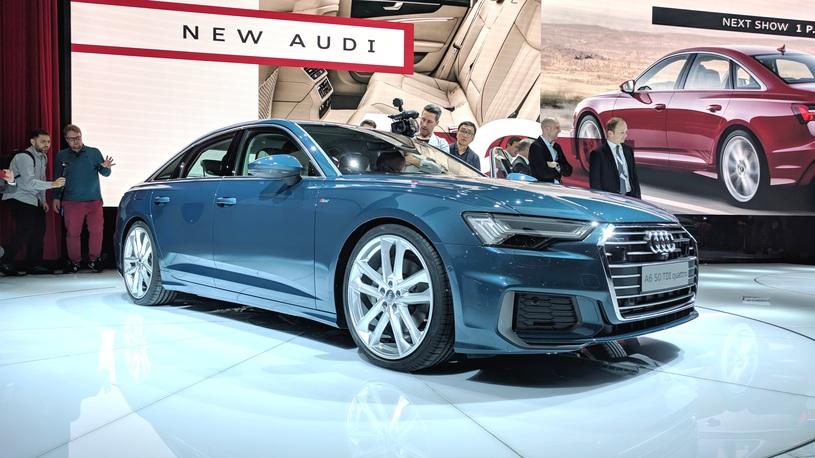 Новый Audi A6 приедет в Россию с единственным мотором