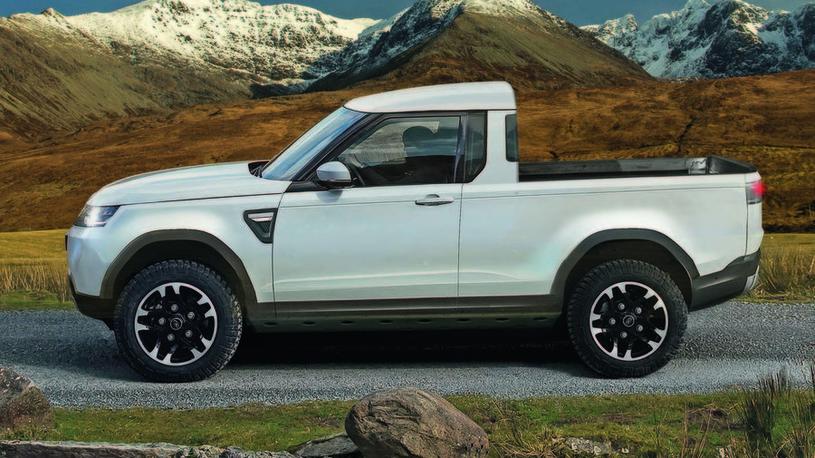 Land Rover готовит соперника пикапу Mercedes-Benz X-Class
