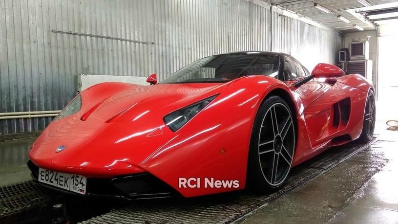 Реанимирован первый экземпляр российского суперкара