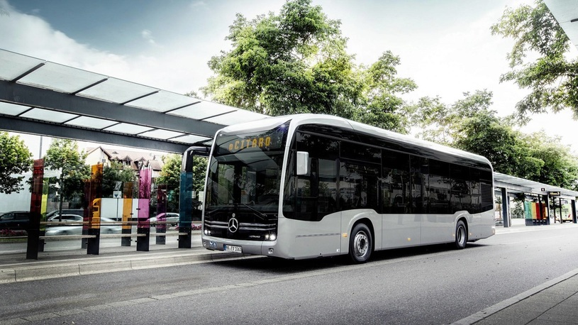 Mercedes-Benz представил электрический автобус eCitaro