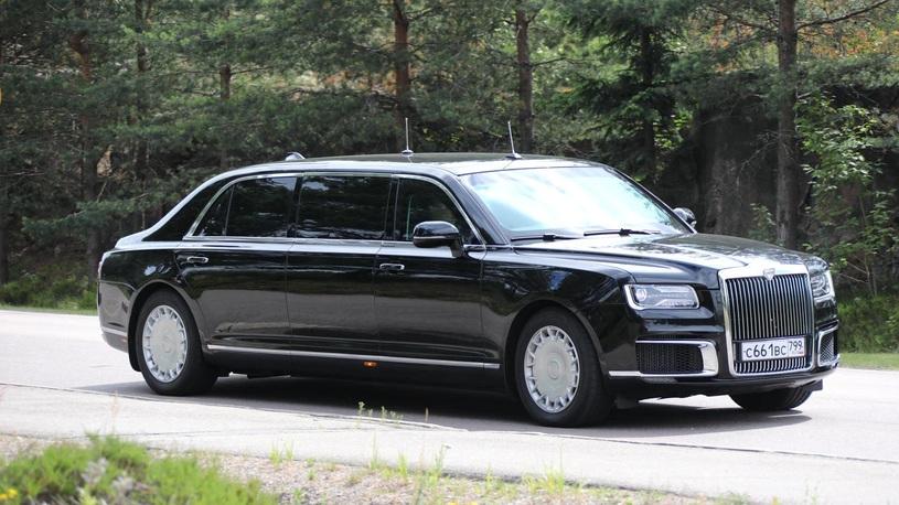 Новый лимузин Путина покажут Дональду Трампу