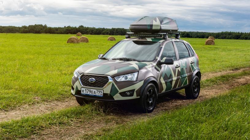 Datsun выпустил внедорожный кросс-хэтчбек для России