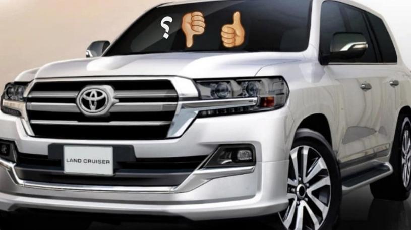 Обновленный Toyota Land Cruiser 200 получит новое