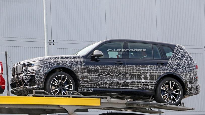 BMW рассказала об испытаниях нового X7
