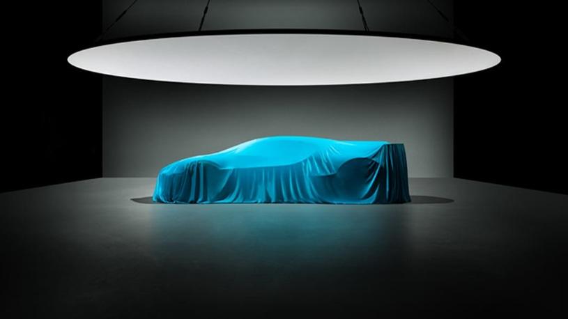 Опубликовано фото нового гиперкара Bugatti за 370 млн рублей