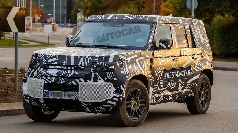 Новый Land Rover Defender: первые